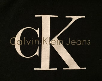 Vintage Calvin Klein Jeans Logo T Shirt