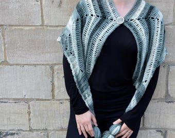 Bliss Wrap Cardigan - Instant Download Crochet Pattern