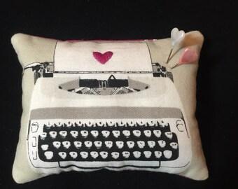Typewriter Pincushion