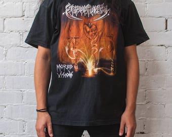 Sepultura 'Morbid Visions' T Shirt- XL