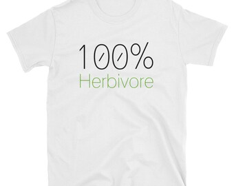 100% Herbivore Short-Sleeve T-Shirt