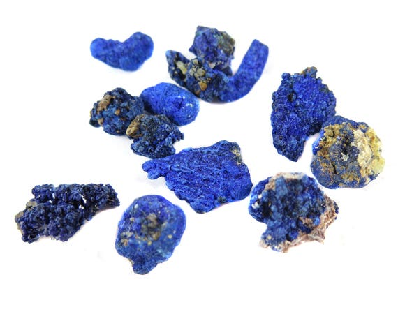 Rough Azurite Chunks - (20 grams) (NS620)