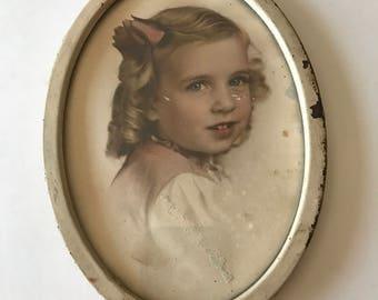Beautiful Old Framed Portrait