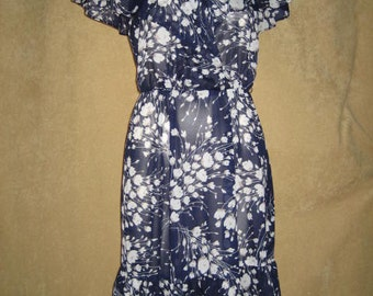 Dress XS Jerell Romantic Floral Vintage 70s Vintage
