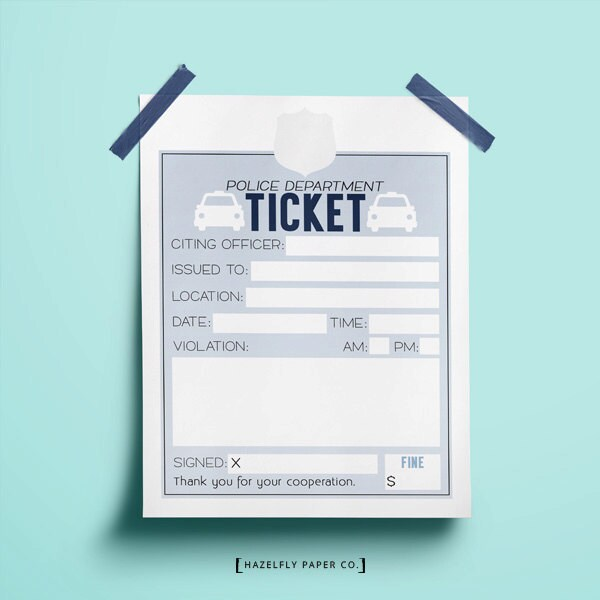 play ticket template