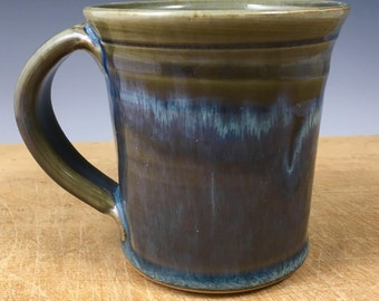 Breakfast Blue Straight Mug