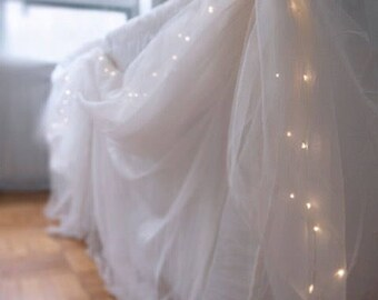 Bridal Shower, Wedding, Table Decor, Strings lights, Leds lights, Spring wedding Decor, Summer Wedding Decor, Wedding Table Lights ONLY -LL