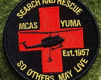 Black Yuma SAR patch