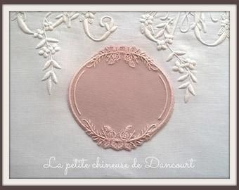 Blush pink rose Medallion