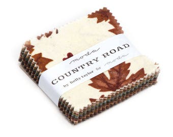 Moda Country Road by Holly Taylor Mini Charm Pack