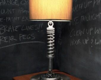 Vintage Motorcycle Lamp