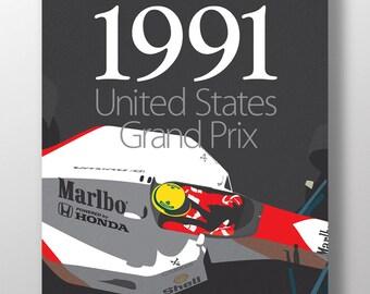 McLaren Honda Print