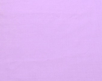 "Lavender 100% Cotton Voile Fabric Solid Pattern 60"" Wide By the Yard Apparel, Quilting"