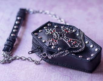 Gotic Coffin Bag for BJD / SD / 1/3