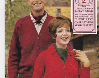 ON SALE Patons Womens, Mens Knitting Book No 2 Vintage 1960's - Patons Classics