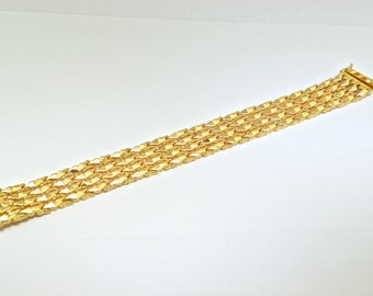 Vintage 18k Yellow Gold Bracelet