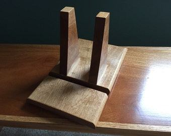 Handcrafted Wooden Tablet Stand
