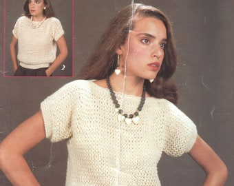 Quick Knit Sweater Patterns, 3-in-1 Leaflet