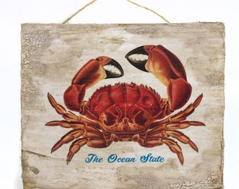 The Ocean State Crab