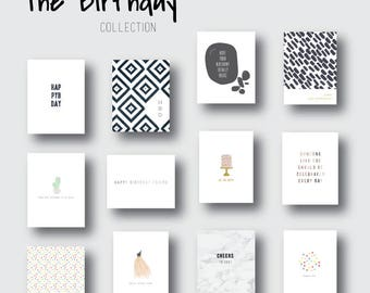 GATHER GREETINGS || The Birthday Collection (set of 12 assorted cards)