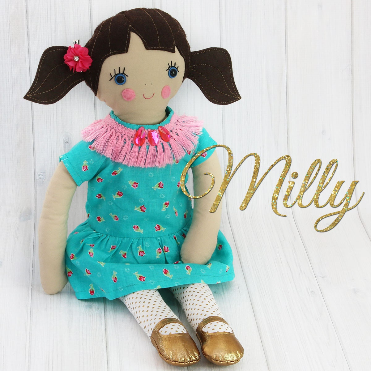 18 inch girl doll pattern cloth doll patterns toy sewing pattern this is a digital file jeuxipadfo Choice Image