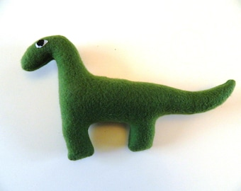 Green Dinosaur Teddy (28 cm across)