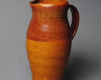 Clay Pitcher Stoneware H59