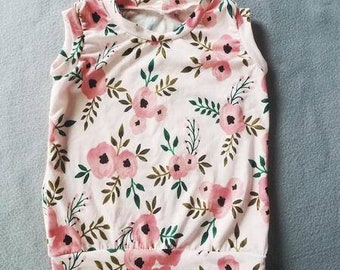 Girls Floral Tank Top