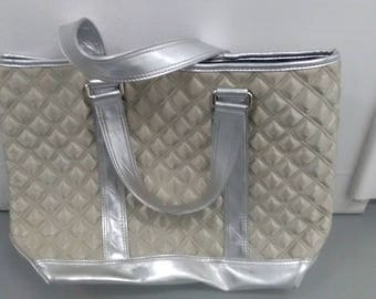 Vintage Marc Jacobs Hand Bag Silver Patch *******Vintage***********