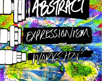 Abstract Expressionism Workshop at Cass Art Liverpool,UK