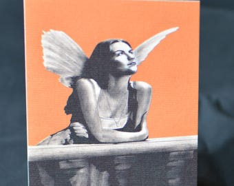 Romeo and Juliet Greeting Card - Angel, Fairy, Wings, Shakespeare, PopArt, Art Cards