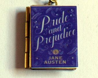 Pride and Prejudice - Book Cover Locket