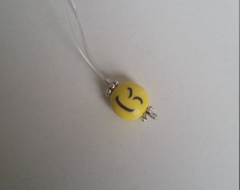 Emoji stitch marker set