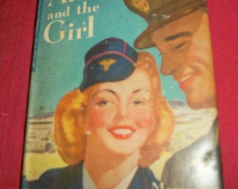 Arms and the Girl, Marguerite Mooers Marshall, Wartime romance novel 1942, free shipping