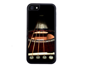 Awesome Guitar Inspired Case Design For iPhone 5/5s, 5c, 6/6s, 6/6s Plus, 7, 7 Plus, 8 or 8 Plus.