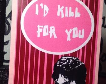 Richard Ramirez Valentine Card serial killer
