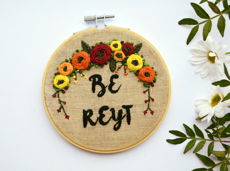 Embroidery hoop art embroidery art hoop art embroidery wall