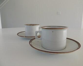 Vintage Dansk - Niels Refsgaard - Cup and Saucer Set - Danish Modern