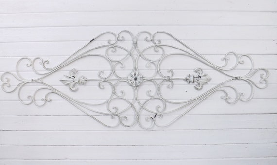 Items Similar To Shabby Chic Wrought Iron / Wrought Iron