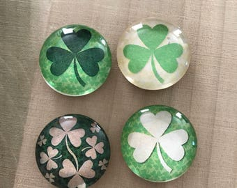 St. Patrick's Day Magnets, Irish magnets, Irish Office decor, Fridge magnets, Locker magnets, Cubicle decor, Kitchen decor, Green magnets