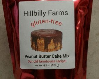 Gluten Free Peanut Butter Cake Mix