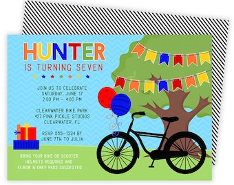 Bike Invitations, Bike Birthday Invite, Bike Invite, Bicycle Invitation, Bicycle Invitations,Bicycle Invite,Bike Invitation,Bike Party | 427