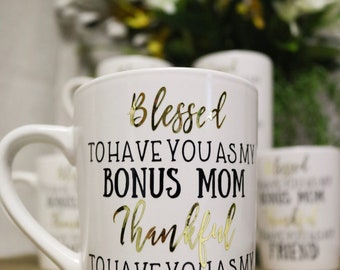 Coffee mug mother in law gift christmas gift for mom adopted mom mothers day present gift mother in law gift christmas present for mother in