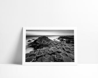 The floor of the Giants, Northern Ireland, Fine Art print signed and numbered