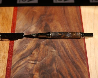 Acrylic Gold Mine Swirls Magnetic Fountain Pen
