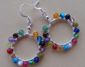 Kaleidoscope Mini Earrings