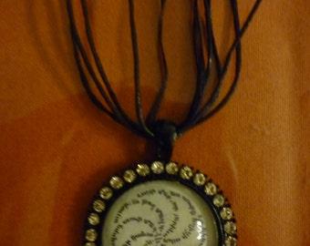 Armenian prayer pendant.