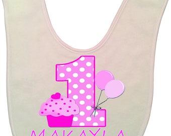 Personalized Baby 1st Birthday | Cute Infant Bib | Baby's 1st Birthday Gift | Cake Smash | Custom Bib | Mr One | Infant gift | My 1st gift