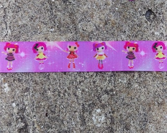 "7/8"" Lalaloopsy Grosgrain Ribbon - 5 Yards"