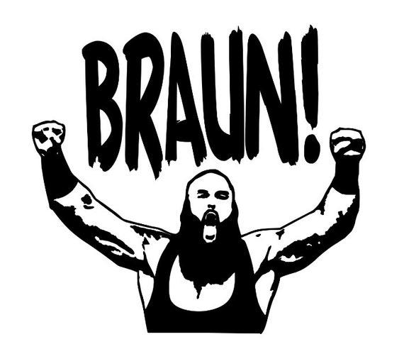 Braun Strowman Wwe Wrestling Wrestler Decal Sticker Bumper